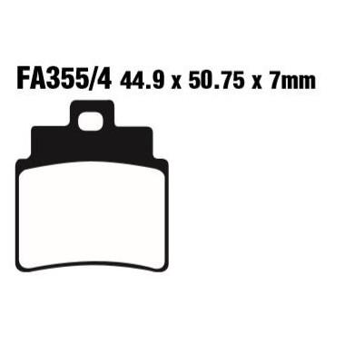PASTILLAS FRENO EBC FA355/4HH