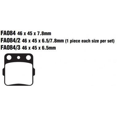 PASTILLAS FRENO EBC FA084R