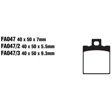 PASTILLAS FRENO EBC FA047/3
