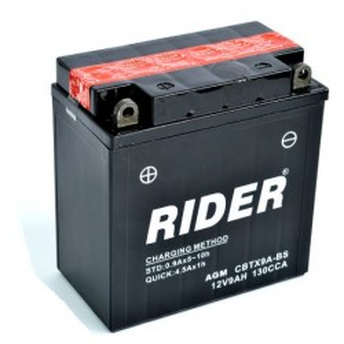 BATERIA RIDER CBTX9A-BS