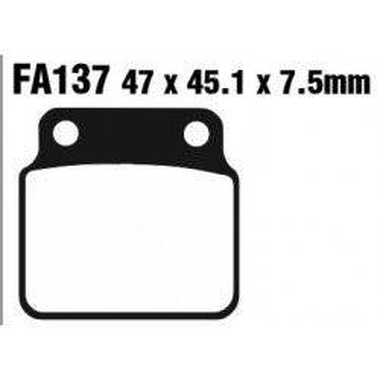 PASTILLAS FRENO EBC FA137TT