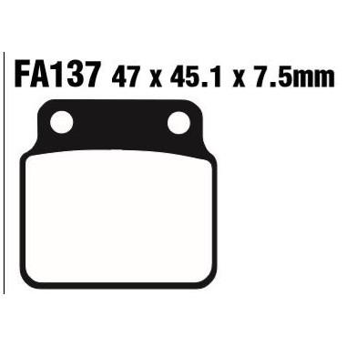 PASTILLAS FRENO EBC FA137R