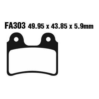 PASTILLAS FRENO EBC FA303TT