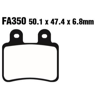 PASTILLAS FRENO EBC SFA350HH