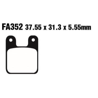 PASTILLAS FRENO EBC FA352
