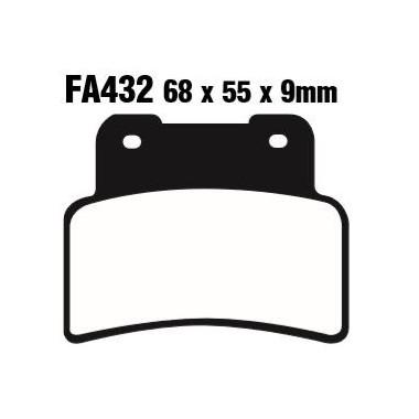 PASTILLAS FRENO EBC FA432