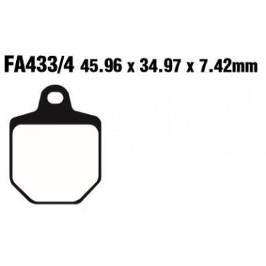 PASTILLAS FRENO EBC SFA433/HH