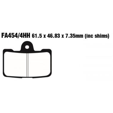 PASTILLAS FRENO EBC FA454/4HH
