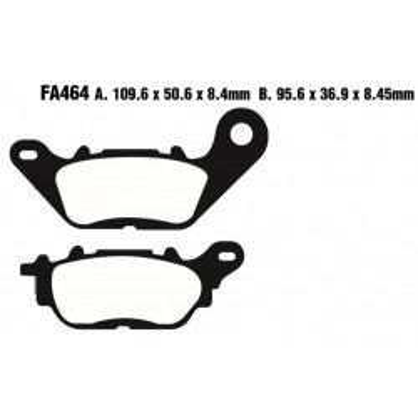 PASTILLAS FRENO EBC SFA464