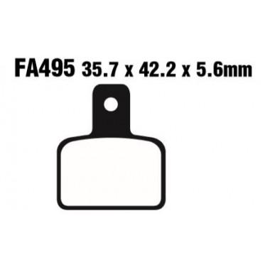 PASTILLAS FRENO EBC FA495