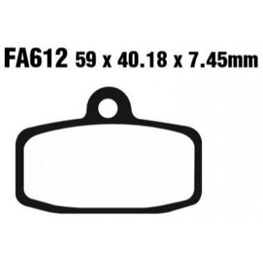 PASTILLAS FRENO EBC FA612TT